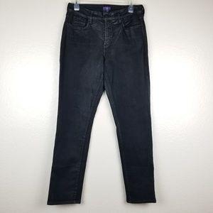 """NYDJ - Coated 'Sheri' Skinny Jeans [10"""" Rise]"""